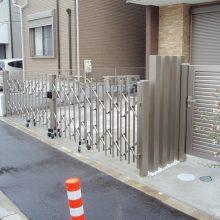 門扉と角柱でバランスよく NO.11の施工写真2