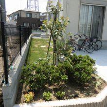 緑あふれるガーデンエクステリア NO.35の施工写真1