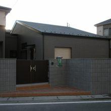 ワイドなゲートもしっくりと NO.24の施工写真2