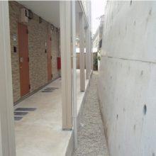集合住宅の門まわりと塀を施工 NO.5の施工写真3