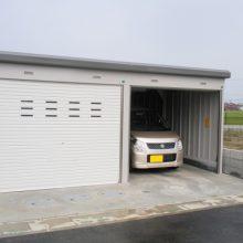 ガレージのあるエクステリア NO.44の施工写真メイン