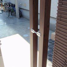 毎日帰るのが楽しくなる門塀 NO.41の施工写真2