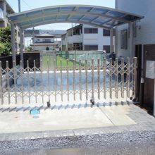 毎日帰るのが楽しくなる門塀 NO.41の施工写真3