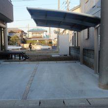 シンプルな真っ白の塀 NO.85の施工写真3