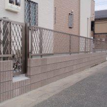 スタンプコンクリートのアプローチ NO.88の施工写真2
