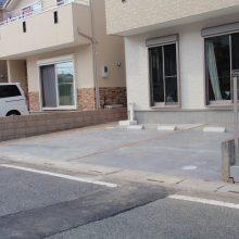 スタンプコンクリートのアプローチ NO.93の施工写真2