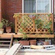 お庭のエクステリアはスタンプコンクリート NO.96の施工写真2