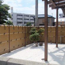 竹垣フェンスで和風な雰囲気 NO.103の施工写真