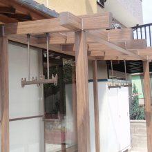 竹垣フェンスで和風な雰囲気 NO.103の施工写真2