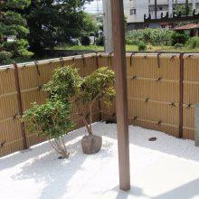 竹垣フェンスで和風な雰囲気 NO.103の施工写真0
