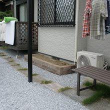 リフォームして素敵なお庭に変身 NO.111の施工写真2