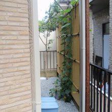 レンガのアーチが美しい門塀 NO.106の施工写真3