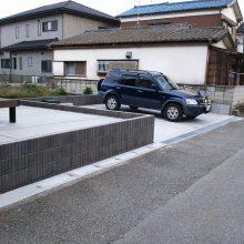 車庫スペースを最大限に取得 NO.116の施工写真2