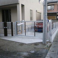 門塀に宅配BOXを取り付けました NO.121の施工写真2