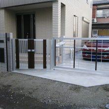 門塀に宅配BOXを取り付けました NO.121の施工写真3