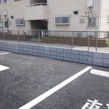 動物病院の駐車場工事完成です NO.141の施工写真1