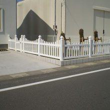 輸入したフェンスで欧風に NO.142の施工写真2
