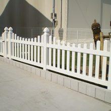 輸入したフェンスで欧風に NO.142の施工写真3