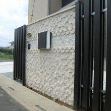 思い出のバリ島のイメージを…個性的な門塀 NO.152の施工写真0