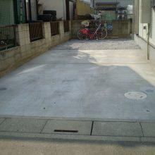 格子模様のブロック NO.208の施工写真3