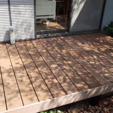 木漏れ陽がキレイなウッドデッキで癒される NO.221の施工写真0