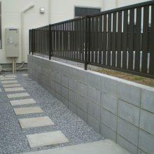 病院の駐車場工事 NO.218の施工写真1