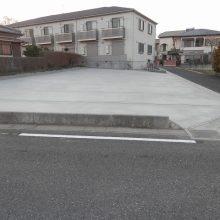 駐車場コンクリート施工 NO.264の施工写真1