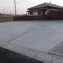 駐車場コンクリート施工 NO.264の施工写真3