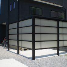 モダンな目隠しフェンス NO.299の施工写真2