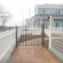 アプローチは木目のスタンプコンクリート NO.310の施工写真3