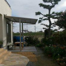 生垣・植栽を撤去して NO.372の施工写真2