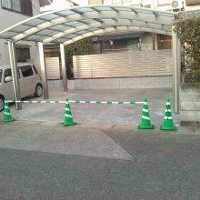 駐車場を増設しカーポートを設置 NO.375の施工写真2