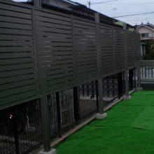 フェンスでがっちりガード NO.368の施工写真2