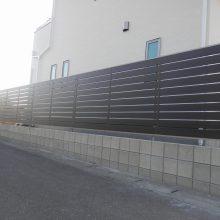 木調フェンスとカーポート NO.395の施工写真2