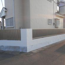塀をリフォーム NO.416の施工写真1