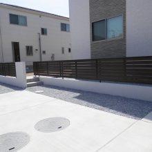 木調スタンプコンクリートの存在感 NO.424の施工写真2