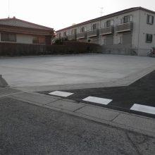 駐車場コンクリート施工 NO.264の施工写真