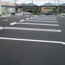 病院の駐車場工事 NO.218の施工写真