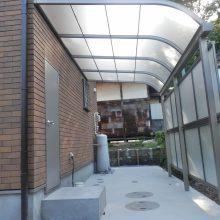 シンプルな駐車場の外構 NO.444の施工写真1