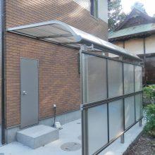シンプルな駐車場の外構 NO.444の施工写真2
