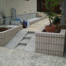 広い庭を有効活用したいお客様の希望でのエクステリア NO.151の施工写真