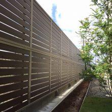 目隠しフェンスでプライベートを守ります NO.457の施工写真2
