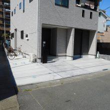 建物の回りをコンクリートで施工 NO.483の施工写真0