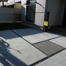 ウッドデッキと人工芝 NO.485の施工写真2