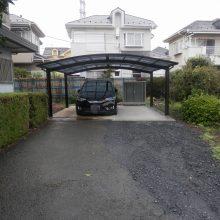 車庫からカーポートへ NO.491の施工写真0