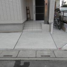 土間コンクリートで回りを施工致しました NO.492の施工写真0