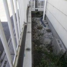 セミクローズ外構で防犯対策 NO.509の施工写真2