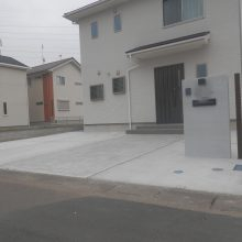 土間とスタンプコンクリート NO.508の施工写真0