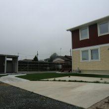 大きな敷地は自然とのバランスを大事に NO.517の施工写真0