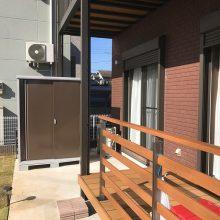 フェンス付のウッドデッキを設置いたしました NO.514の施工写真3